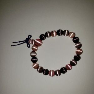Jewelry - Pink And Purple Beaded Bracelet